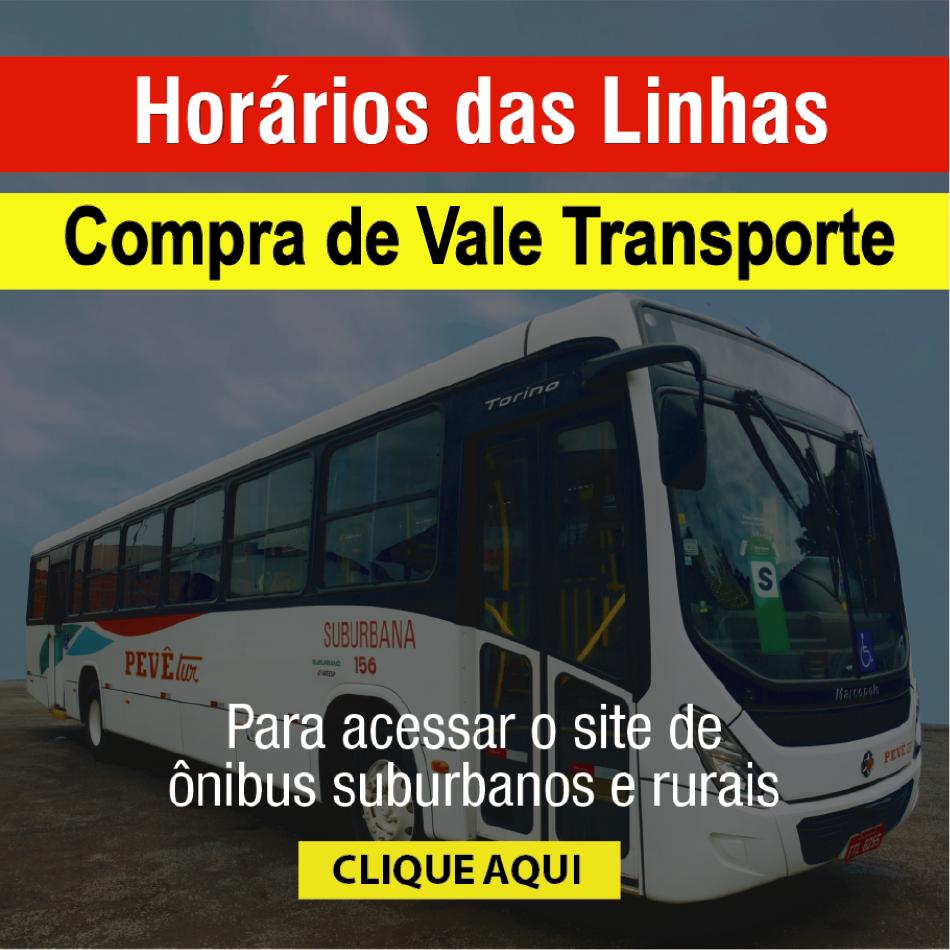 Ônibus suburbanos e rurais